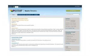 Kitsap Credit Union - Board Portal